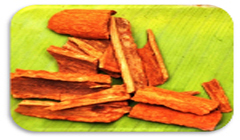 Cinnamon can be used for dry mouth.