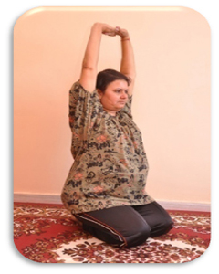 Parvatasana in pregnancy