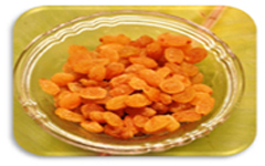 Raisins (dry grapes)
