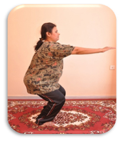 Utkatasana in pregnancy